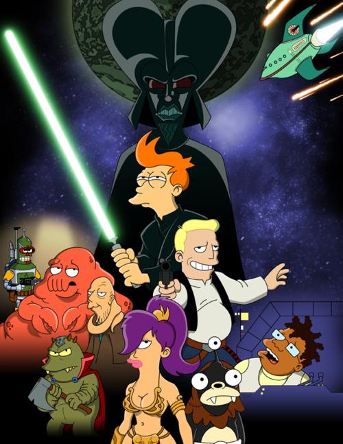 Futurama - Star Wars - Tony Norton - Return of the Jedirama