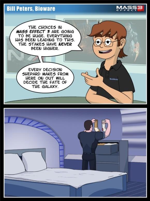 Mass Effect - Decision Crisis - Own Parsons - Comic - Dorkly - Edit