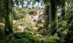 Carl Warner - Foodscapes - Cucumber Bridge