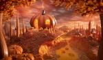 Carl Warner - Foodscapes - Pumpkin Paradise