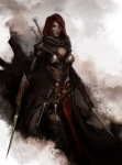 Daniel Kamarudin - Medieval Avengers - Black Widow