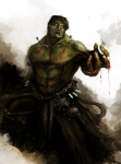 Daniel Kamarudin - Medieval Avengers - Hulk