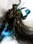 Daniel Kamarudin - Medieval Avengers - Loki