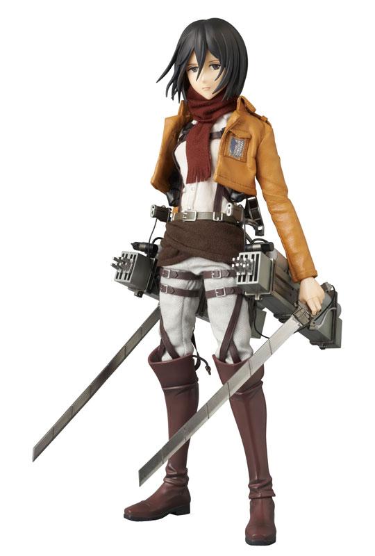 Attack on Titan - Mikasa Ackerman - Real Action Hero - Medicom Toy
