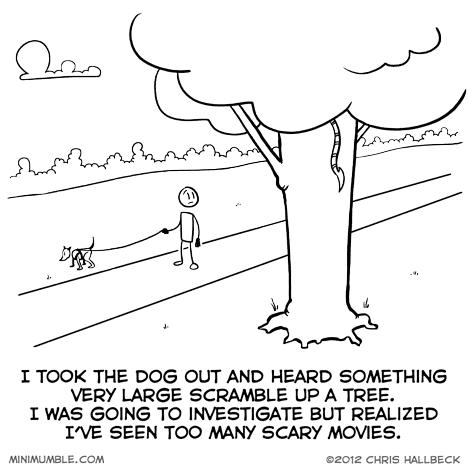 Minimumble - Chris Hallbeck - Maul - Comic