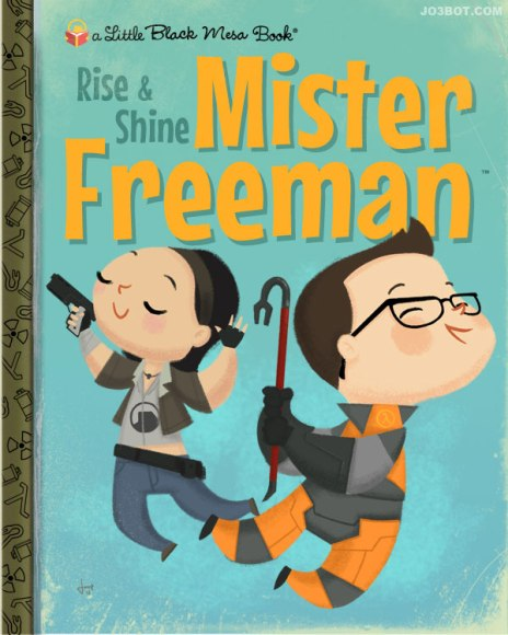 Joebot - Joey Spiotto - My Little Golden Books - Videogames - Rise and Shine Mister Freeman