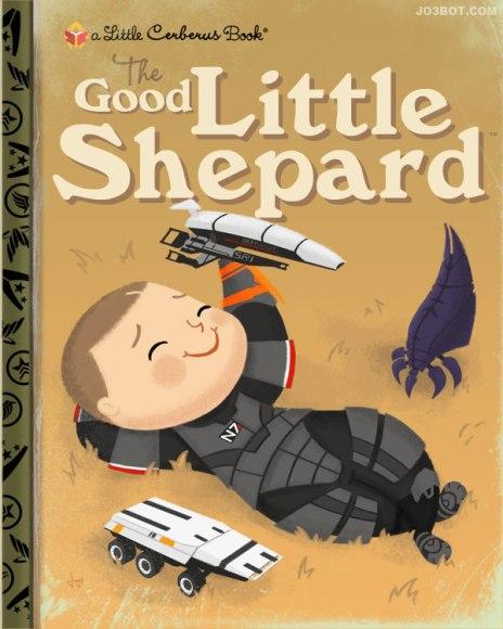 Joebot - Joey Spiotto - My Little Golden Books - Videogames - The Good Little Shepard
